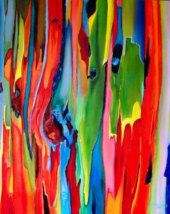 Rainbow Eucalyptus Collection, Fine Art by Maite Rodriguez