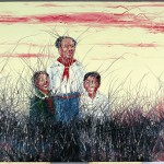 """Chairman Mao With Us"" by Zeng Fanzhi"