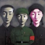 """Bloodline: The Big Family No. 3."" by Zhang Xiaogang"