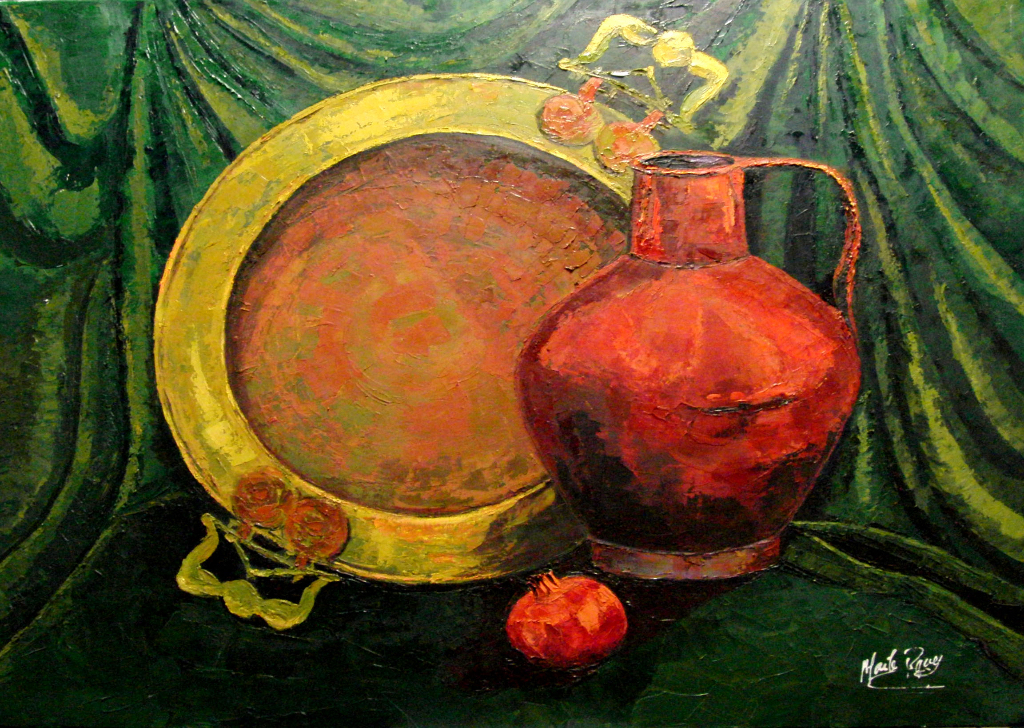 Original art Painting by Maite Rodriguez, Oil on Canvas, Buy art, Still life,