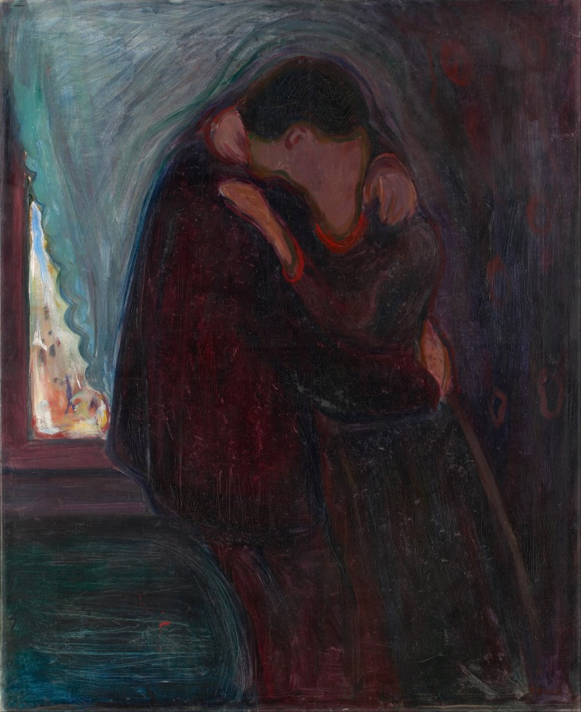 The Kiss, Edvard Munch