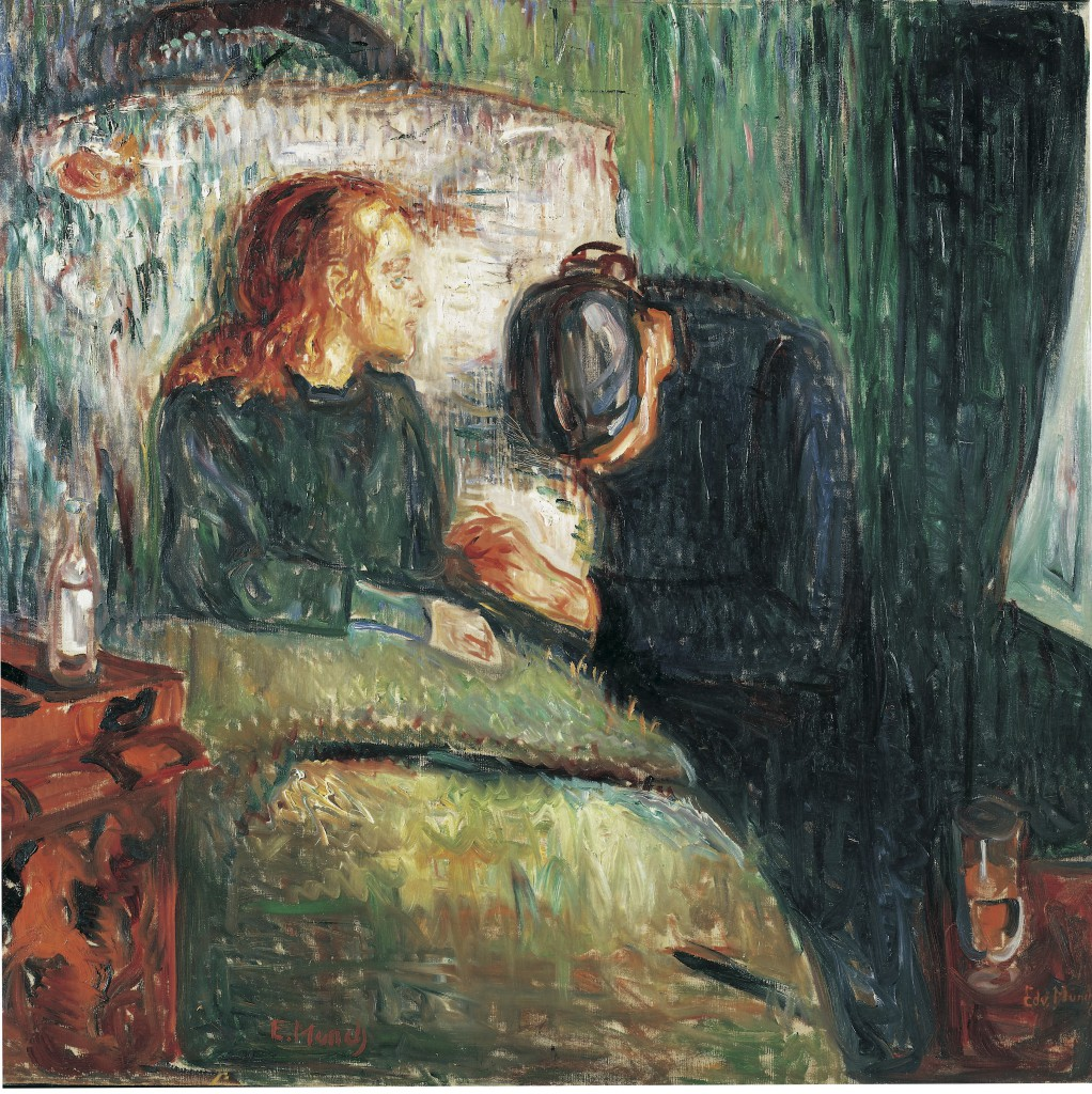 The Sick Child Edvard Munch