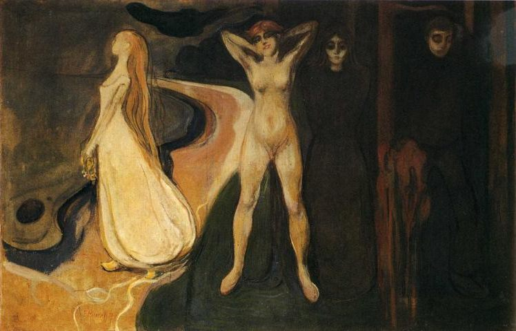 Woman in three Stages, Edvard Munch