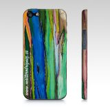 Iphone 5/5s Corteza Arcoiris Art by Maite Rodriguez