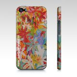 Iphone 5/5s phone case, art by Maite Rodriguez