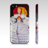 Iphone 5/5s Menina Imagine Phone Case, Art by Maite Rodriguez