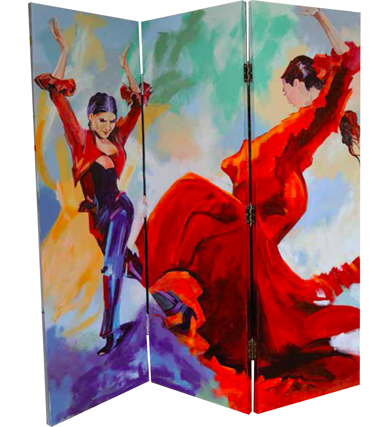 Folding Screens, Biombos, Art by Maite Rodriguez