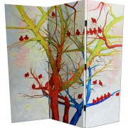 Biombo / Room Divider, art by Maite Rodriguez